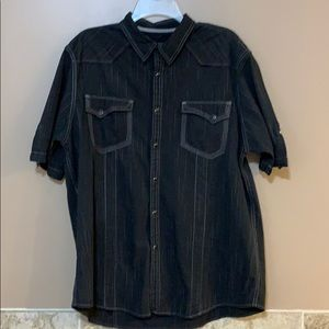 Inc sold at Macys Western Style S/S shirt